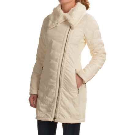 prAna Diva Long Jacket - Sherpa Lining (For Women) in Winter - Closeouts