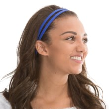 prAna Double Headband - Recycled Materials (For Women) in Blue Jay - Closeouts