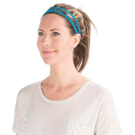 prAna Double Headband - Recycled Materials (For Women) in Electro Blue - Closeouts