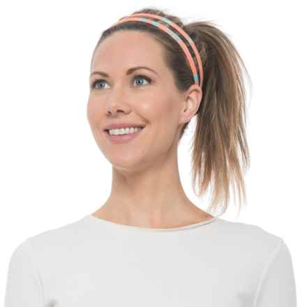prAna Double Headband - Recycled Materials (For Women) in Summer Peach Gemstone - Closeouts