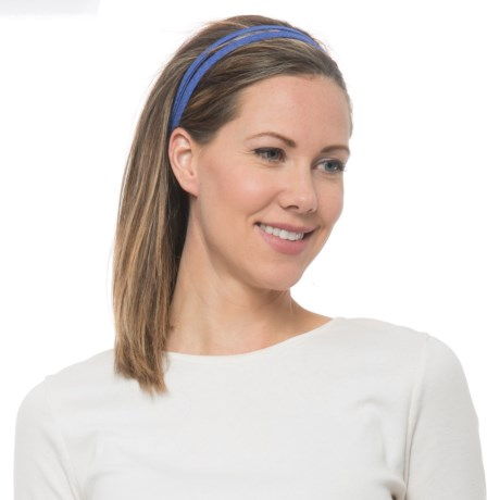 prAna Double Headband - Recycled Materials (For Women) in Supernova Geo