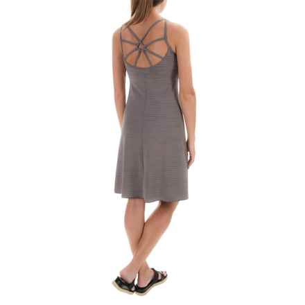 prAna Dreaming Dress - Sleeveless (For Women) in Moonrock Broken Stripe - Closeouts