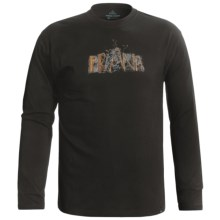 prAna Dri-Balance® Shirt - Long Sleeve (For Men) in Black Sprout - Closeouts