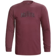 prAna Dri-Balance® Shirt - Long Sleeve (For Men) in Wine Sprout - Closeouts