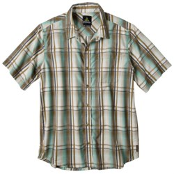 prAna Duke Shirt - Short Sleeve (For Men) in Tomato