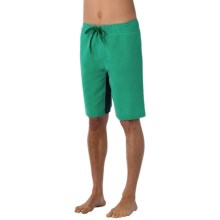 prAna Dune Boardshorts - UPF 50+ (For Men) in Dark Clover - Closeouts