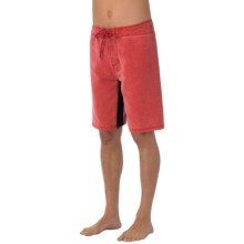 prAna Dune Boardshorts - UPF 50+ (For Men) in Pompeian Red - Closeouts