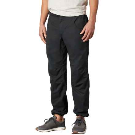 prAna Ecliptic Pants - Organic Cotton (For Men) in Black - Closeouts