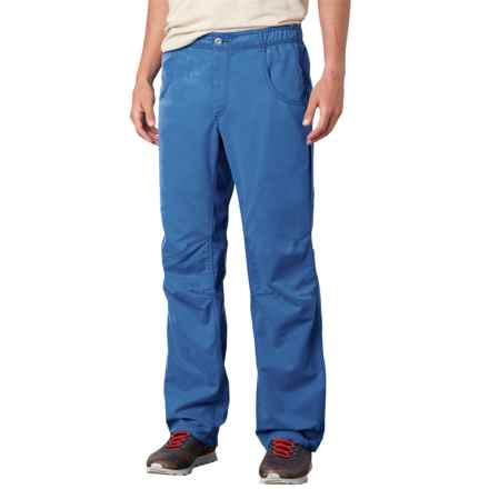 prAna Ecliptic Pants - Organic Cotton (For Men) in Classic Blue - Closeouts