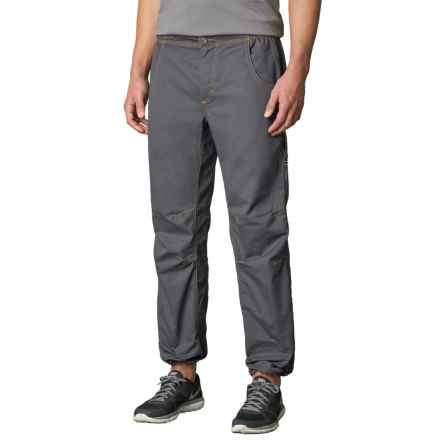 prAna Ecliptic Pants - Organic Cotton (For Men) in Coal - Closeouts