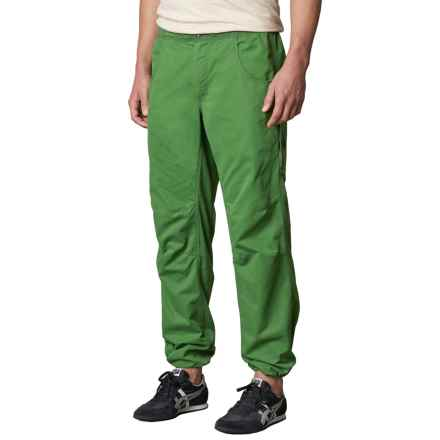 prAna Ecliptic Pants - Organic Cotton (For Men) in Deep Jade - Closeouts