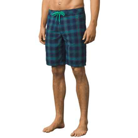 prAna El Porto Boardshorts (For Men) in Blue - Closeouts