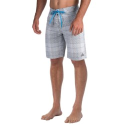 prAna El Porto Boardshorts (For Men) in Gravel
