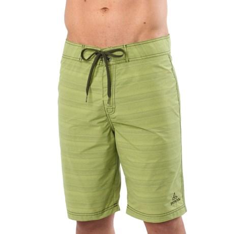 prAna El Porto Boardshorts (For Men) in Green