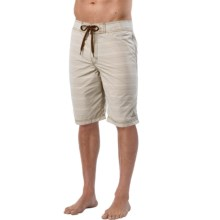 prAna El Porto Boardshorts (For Men) in Pebble - Closeouts