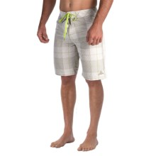 prAna El Porto Boardshorts (For Men) in Stone - Closeouts