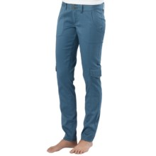 prAna Elena Pants - Organic Cotton, Low Rise (For Women) in Blue Ash - Closeouts