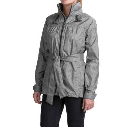 PRANA ELIZA JACKET-WATERPROOF (For Women) in Coal Misty - Closeouts
