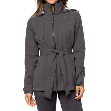 prAna Eliza Jacket - Waterproof (For Women) in Coal - Closeouts