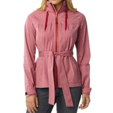 prAna Eliza Jacket - Waterproof (For Women) in Dusty Rose - Closeouts