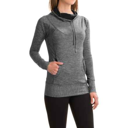 prAna Ember Shirt - Long Sleeve (For Women) in Black - Closeouts
