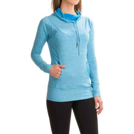 prAna Ember Shirt - Long Sleeve (For Women) in Electro Blue - Closeouts