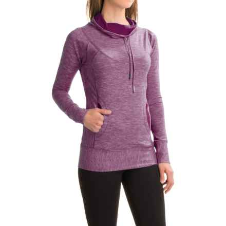 prAna Ember Shirt - Long Sleeve (For Women) in Grapevine - Closeouts