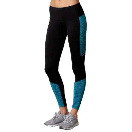 prAna Ergo Leggings - Fitted (For Women) in Indigo - Closeouts