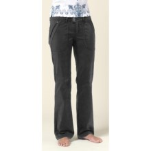 prAna Essex Pants - Stretch (For Women) in Black - Closeouts