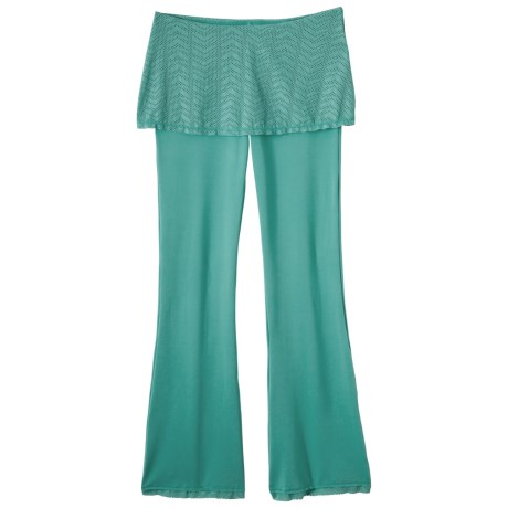 prAna Farrah Pants with Skirt (For Women) in Turquoise