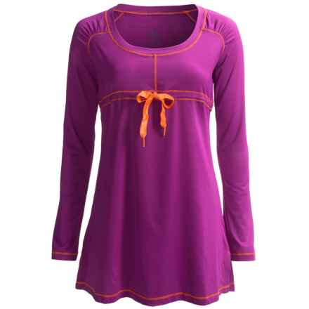 prAna Felicity Cover-Up Shirt - UPF 30+, Long Sleeve (For Women) in Berry - Closeouts