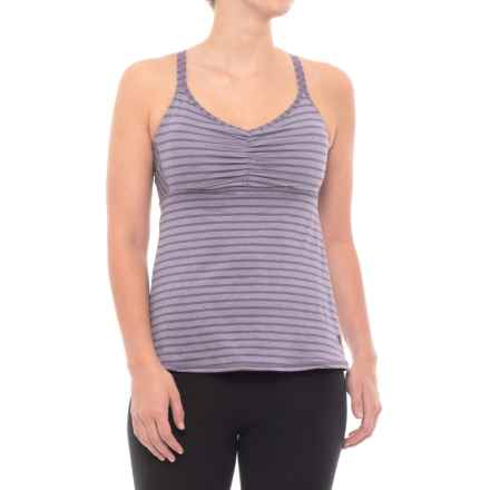 prAna Filament Tank Top - Built-In Bra (For Women) in Purple Mountain - Closeouts