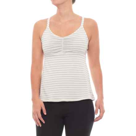 prAna Filament Tank Top - Built-In Bra (For Women) in Winter - Closeouts