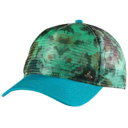 prAna Finney Trucker Hat (For Women) in Emerald Waters - Closeouts