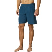 prAna Flex Shorts - Built-In Liner (For Men) in Blue Ridge - Closeouts