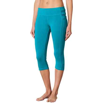 prAna Freya Knicker Capris - Low Rise (For Women) in Cove - Closeouts