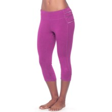prAna Freya Knicker Capris - Low Rise (For Women) in Vivid Viola - Closeouts