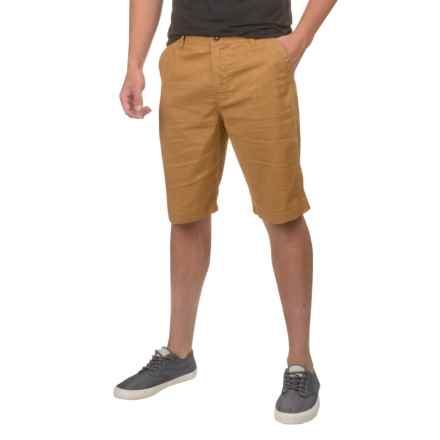prAna Furrow Shorts (For Men) in Dark Ginger - Closeouts