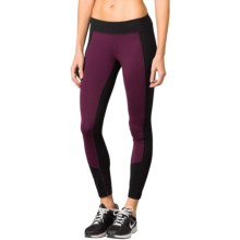 prAna Gabi Leggings - Slim Fit (For Women) in Black Plum - Closeouts