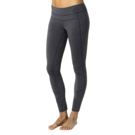 prAna Gabi Leggings - Slim Fit (For Women) in Charcoal Heather - Closeouts