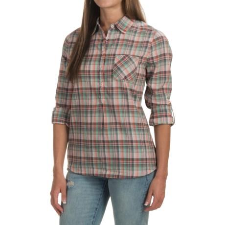prAna Gina Shirt - Organic Cotton, Long Sleeve (For Women) in Bora Bay