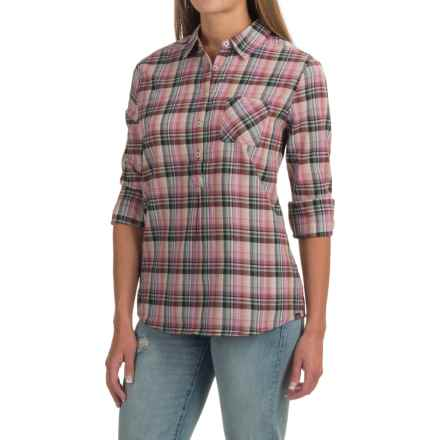 prAna Gina Shirt - Organic Cotton, Long Sleeve (For Women) in Wild Orchid - Closeouts