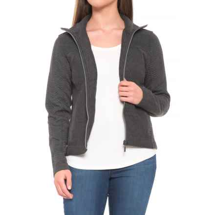 prAna Hadley Knit Jacket (For Women) in Charcoal Heather - Closeouts