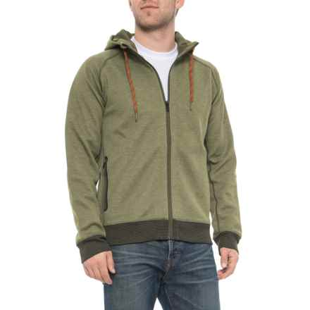 prAna Halgren Urban Hoodie (For Men) in Cargo Green Heather - Closeouts