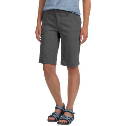 prAna Halle Shorts (For Women) in Coal - Closeouts