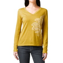 prAna Hanna Shirt - Long Sleeve (For Women) in Agave - Closeouts