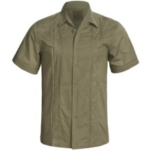 prAna Havana Shirt - Cotton, Short Sleeve (For Men) in Light Fatigue - Closeouts