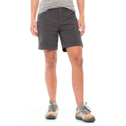 prAna Hazel Shorts (For Women) in Coal - Closeouts