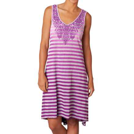 prAna Henna Dress - Organic Cotton, Sleeveless (For Women) in Rich Fuchsia - Closeouts