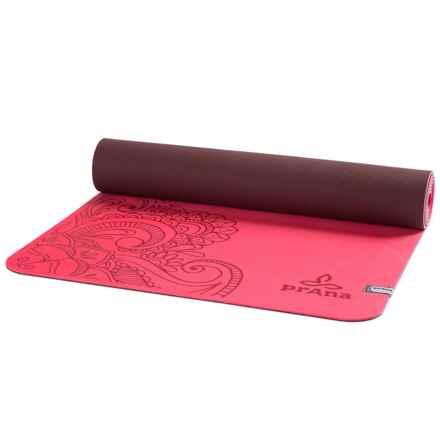 prAna Henna ECO Yoga Mat - 5mm in Azalea - Closeouts